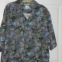 Columbia River Lodge Shirt Size Xl Floral Print Photo