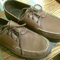 Columbia River Lodge Shoes Leather Lace Up Brown Men's 13 Photo