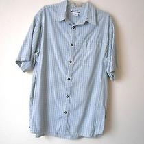 Columbia River Lodge Vented Short Sleeve Button Front Xl Photo