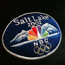Columbia Salt Lake 2002 Olympic Nbc Television One Size Ski Beanie Photo