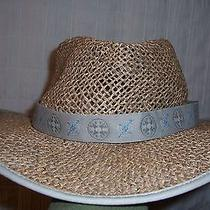 Columbia Seagrass Straw Outdoor Hat Size Large to Xl Unisex Photo