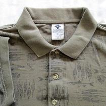 Columbia Shirt Xl Mens Green - Fish Photo