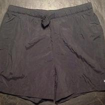 Columbia Shorts Womens Medium Black Preowned Nice Outdoor Casual Photo