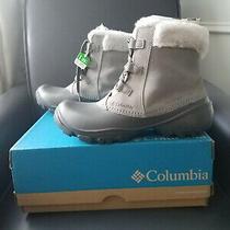 Columbia Sierra Summette Shorty Light Grey Waterproof Boots 9.5 New in Box Photo