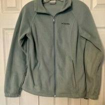 Columbia Size Small Women's Full Zip Fleece Jacket Photo