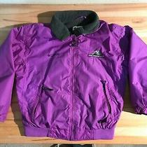 Columbia Ski Jacket Coat Purple Sz L Fleece Lined Women's Large Photo