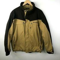 Columbia Ski Winter Jacket Mens Large Brown Snowboard Omni Tech  Photo