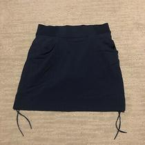 Columbia Skirt Omni Shield Navy Blue  Summer Hiking Size Small Photo