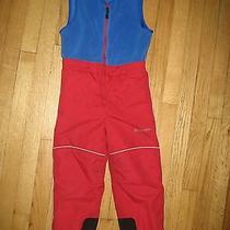 Columbia Snow Bibs Boys Sz. 4-5 Photo