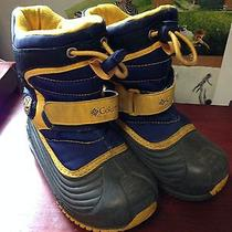 Columbia Snow Boots Blue Toddler Size 9 Photo
