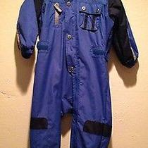 Columbia Snow Bunting/snow Suit Toddler Boys 3t Photo