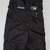 Columbia Snow Pants Tectonite 2 3 Black Reinforced Knees Seat Lined Boys Girls Photo