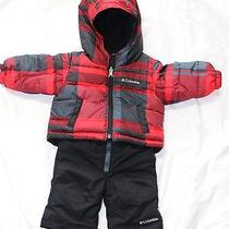 Columbia Snow Slush Reversible Snow Suit Set - 6 Months - Excellent.  Photo