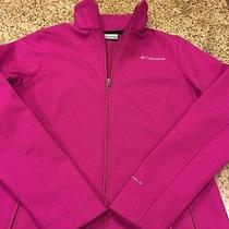 Columbia Softshell Pink Jacket Women's Small Photo