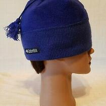 Columbia Sportswear Co Cold Weather Winter Snow Hat  - Sz Osfa Youth - Blue Photo