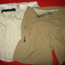 Columbia Sportswear Co. Men's Shorts Lot (2) Size Large Color Fossils & Cl Photo