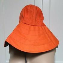 Columbia Sportswear Gortex Sz S Orange Hat  Photo