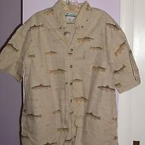Columbia Sportswear Mens Medium Fishing Shirt Photo