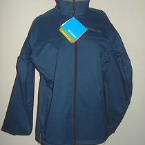Columbia Sportswear Nwt Blue Water Repellant Jacket - S Photo