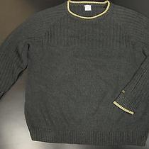 Columbia Sportswear Ribbed Sweater Men Xxl Gray Crew Neck Outdoor Photo