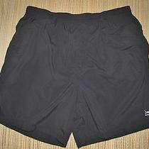Columbia Sportswear Swimsuit Trunks Size Large Nylon Black Fish Fishing Pfg Photo