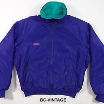 Columbia Sportswear Thinsulate Radial Sleeve Reversible Puffer Jacket Ski 19300q Photo