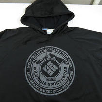 Columbia Sportswear Welcome to the Great Outdoors Hoodie Sweatshirt Sz Mens M Photo