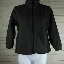 Columbia Sportswear Women Sweater Full Zip Long Sleeve Size 8 Athletic Outdoors Photo