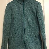 Columbia Sportswear Womens Fleece Jacket Full Zip W/ Pockets Blue Green Teal Med Photo