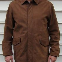 Columbia Sprotswear Micro Suede Mens Winter Jacket/coat Size Lg Photo
