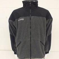 Columbia Titanium High-End Gray & Black Fleece Liner/jacket Men's Large Great  Photo