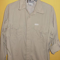 Columbia Titanium Mens Fishing/hiking Shirt  M Photo
