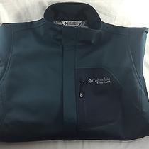 Columbia Titanium Omni-Tech Softshell Jacket Mens Medium Photo