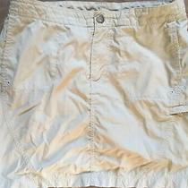 Columbia Titanium Skirt Women Beige Tan Small S 4 Photo
