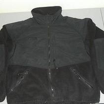 Columbia Titanium Softshell Fleece Black Jacket Full Zip Men's Xl Polyester Euc Photo