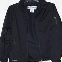 Columbia Titanium Womens Jacket Black Softshell Shell Medium M Coat  Photo