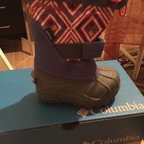 Columbia Toddler Snow Boots Size 6 Photo