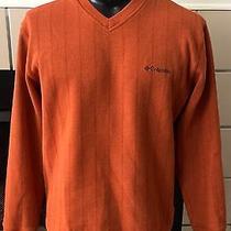 Columbia v-Neck Sweater Size Medium  Photo