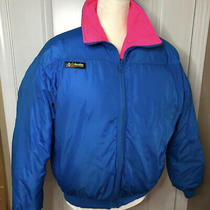 Columbia Vintage 80s Neon Jacket Photo