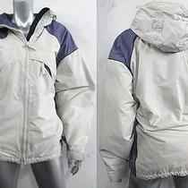 Columbia Violet & Pearl Hooded Jacket Sz L Photo