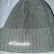 Columbia Watch Cap Beanie Black Warm Winter Hat  Photo