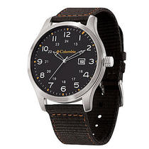 Columbia Watches Fieldmaster Ii - Black / Black/ Orange Photo