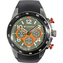 Columbia Watches Transit - Black/black/intense Orange Photo