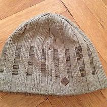 Columbia Winter Hat Beanie Snow Hat Beige - One Size Fits All Photo