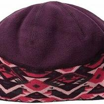 Columbia Women's Alpine Pass Winter Beanie Hat Purple Dahlia Geo One Size New Photo