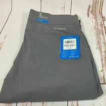 Columbia Women's Anytime Pull on Straight Leg Pants Gray Size S 75 Nwt Photo