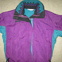 Columbia Women's Bugaboo Radial Sleeve Winter Jacket Southwest Print Collar Sz S Photo