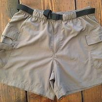 Columbia Women's Cargo Shorts Sz. M Lightweight Nylon Outdoors Travel Photo