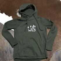 Columbia Women's Hoodie Small S Hart Mountain Msr Green Wild Tree Forest Photo