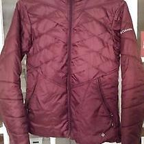 Columbia Women's Interchange Omni-Heat Winter Jacket Maroon Size Medium Photo